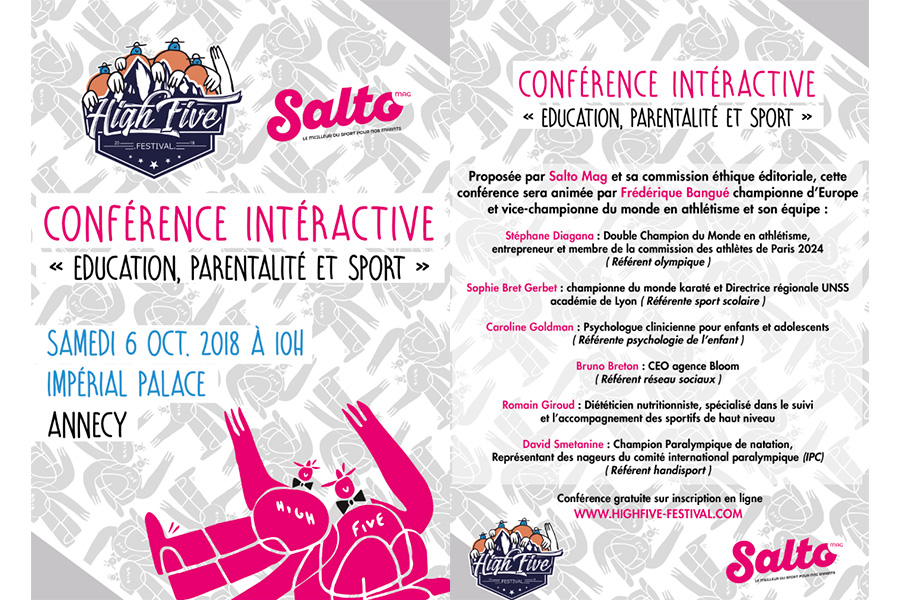 Conférence interative au High Five Festival