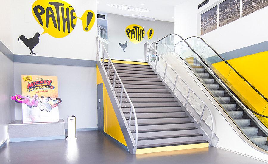 outils de communication commerciale et séminaire d'entreprises - Cinéma Pathé à Annecy