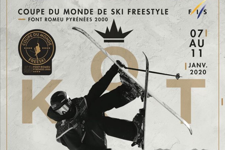 Etape de la coupe du monde de ski à Font Romeu